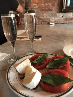 champagne best east village restaurants