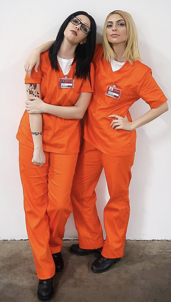 orange is the new black group halloween costume