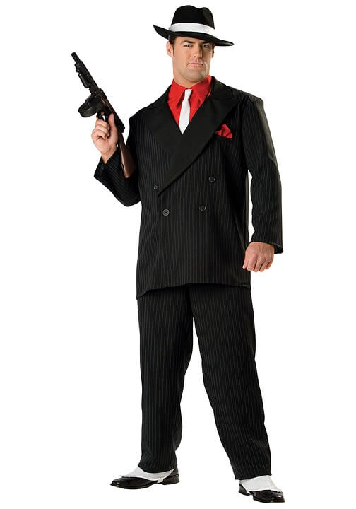 gangster halloween costume