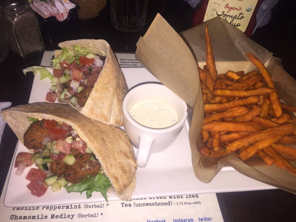 falafel and pita busboys and poets