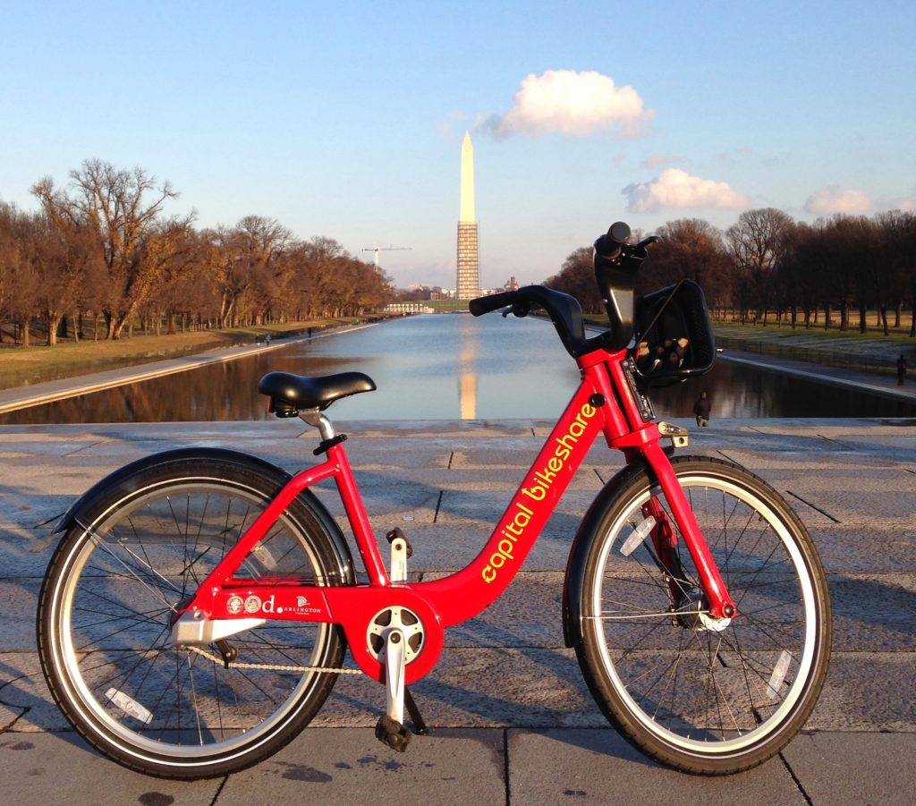 biking national monument things to do in dc at night