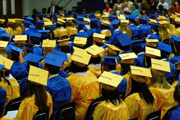 graduates of high school it's okay to not be okay