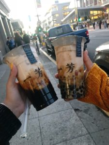 24 Things in 24 Hours at Berkeley- 2 Boba drinks
