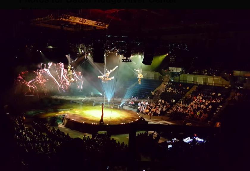 Baton Rouge River Center Cirque du Soleil show