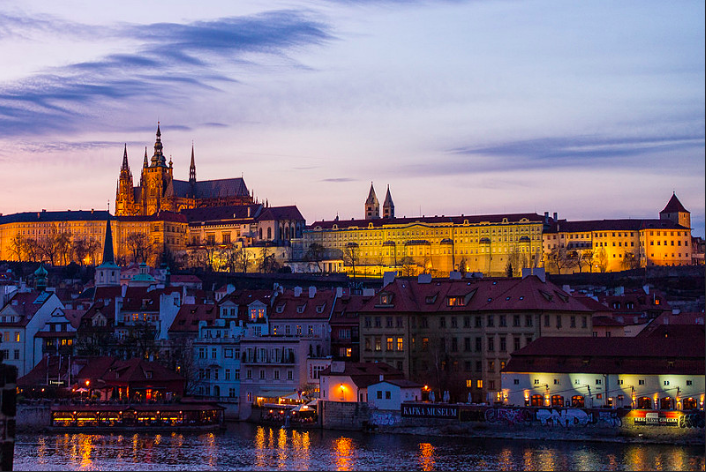 Cheap Vacations Prague skyline