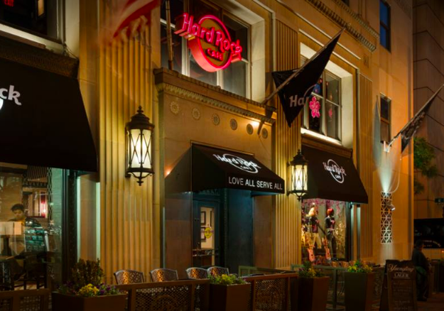 hard rock cafe things to do at night in dc
