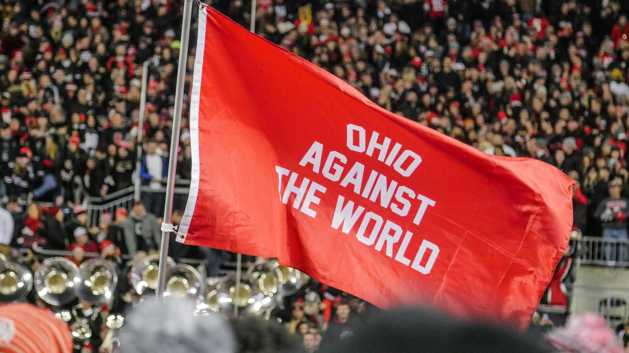 ohio stadium flag columbus