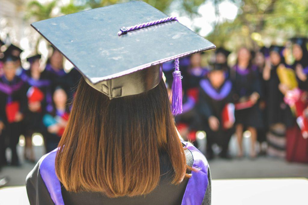 graduation cap english major