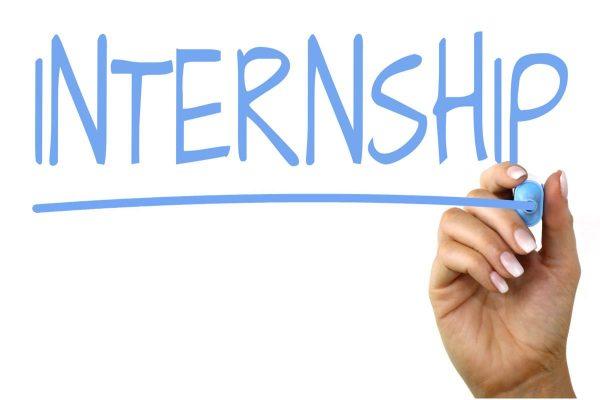 marker saying internship it's okay to not be okay
