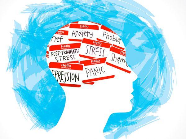 brain with mental health illnesses it's okay to not be okay