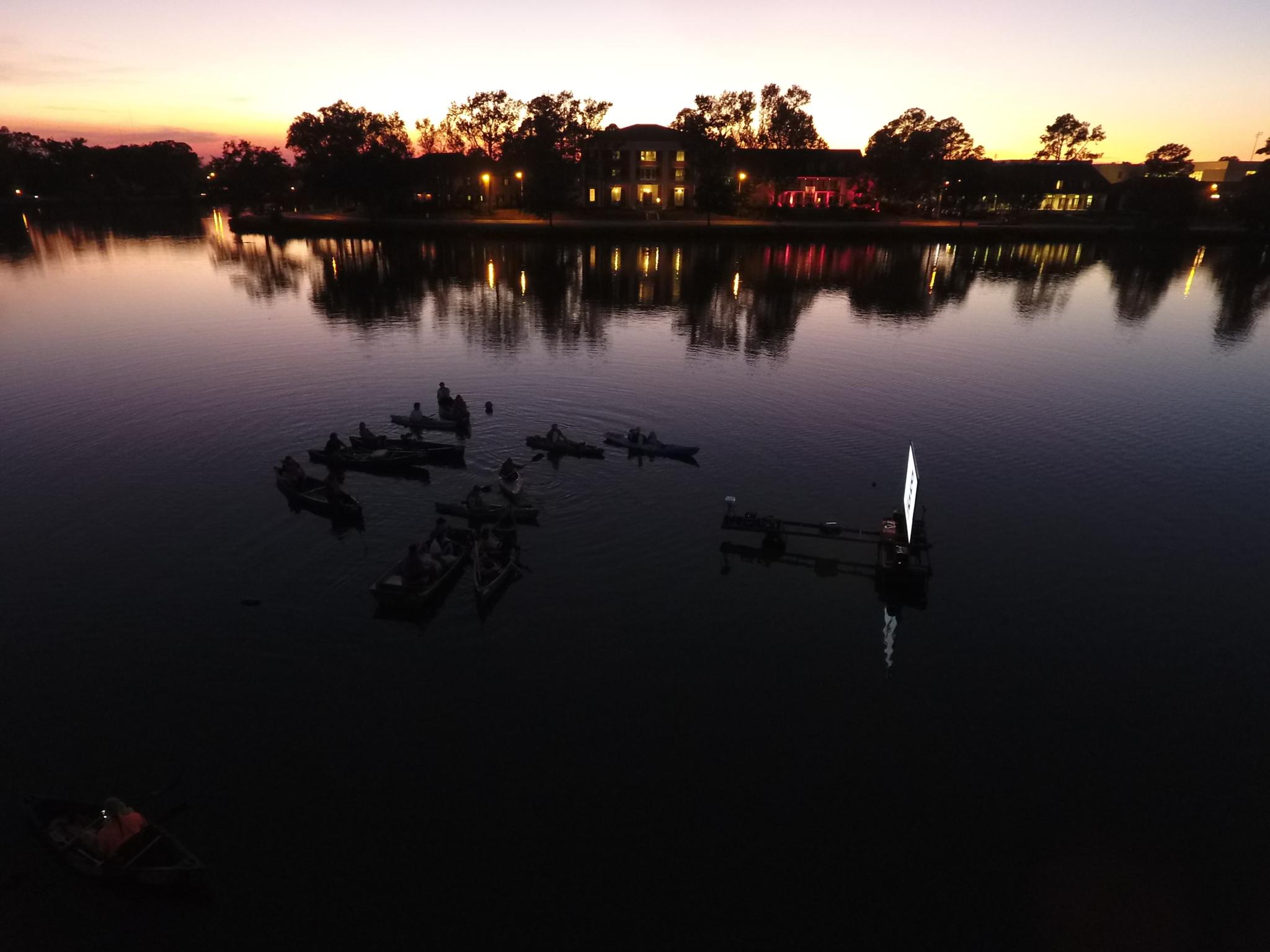 University Lake Baton Rouge