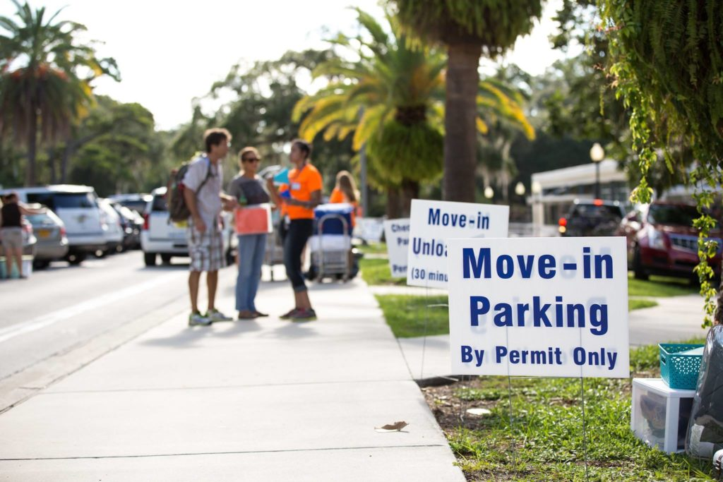 university of florida survival move in day