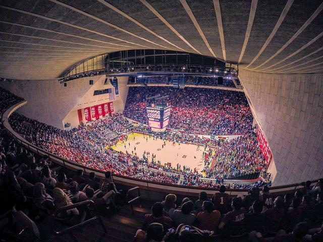 indiana basketball arena