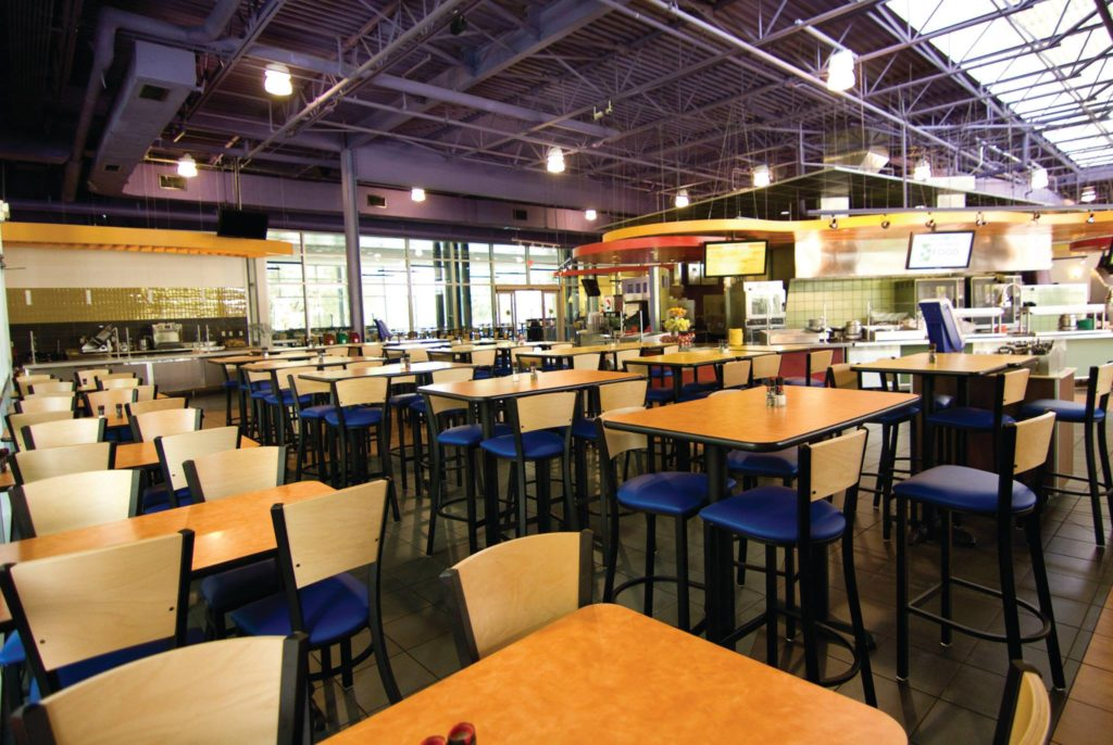 university of florida survival dining hall
