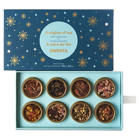 Eight Nights of Tea Hanukkah Gifts