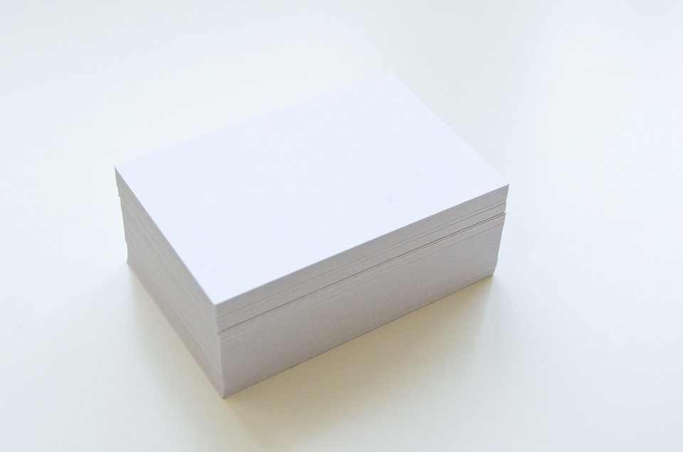 business card box new year's eve party