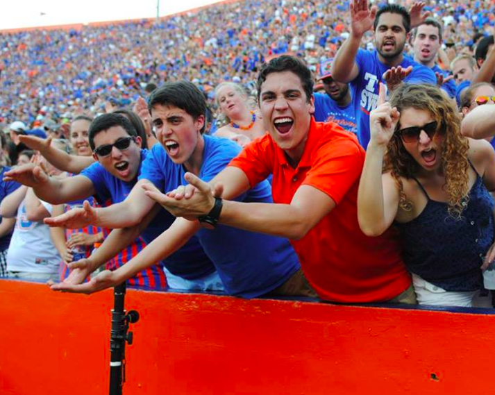 university of florida survival gator fans