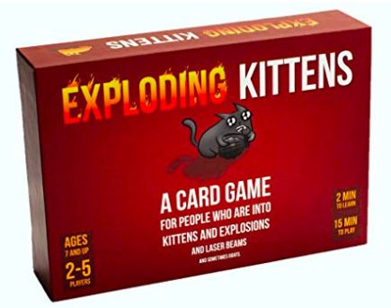 exploding kittens game box