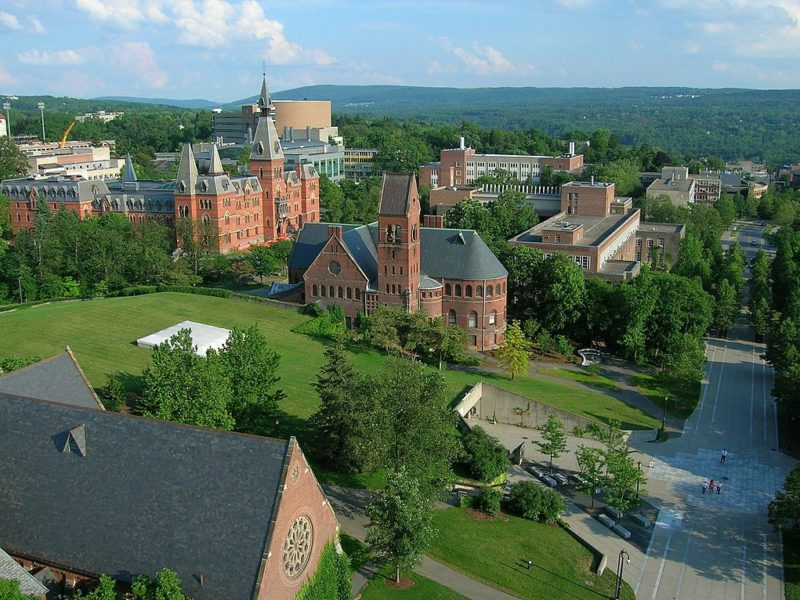 cornell university aerial view colleges for feminists