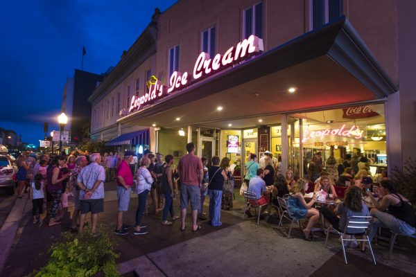 leopolds ice cream things to do in savannah