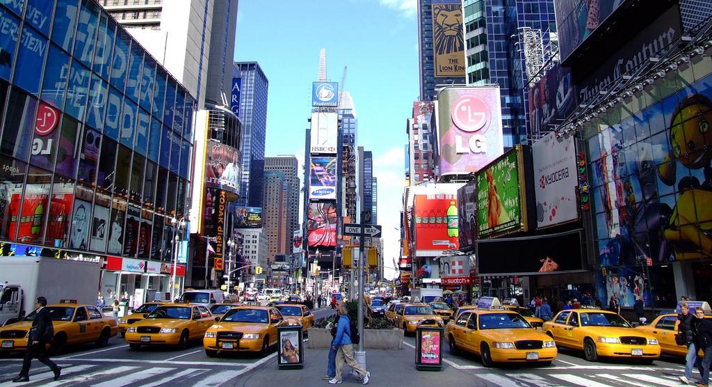 Times Square NYU