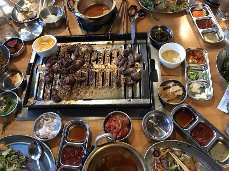 korean bbq san diego state chill spot