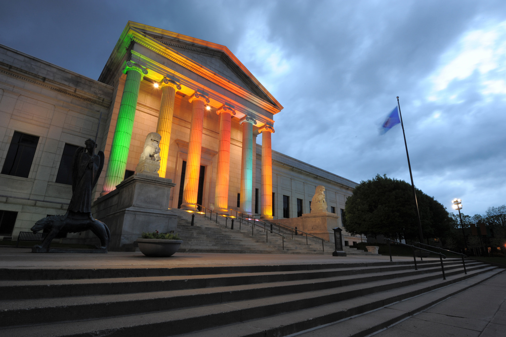Front of the Minneapolis Institute of Art