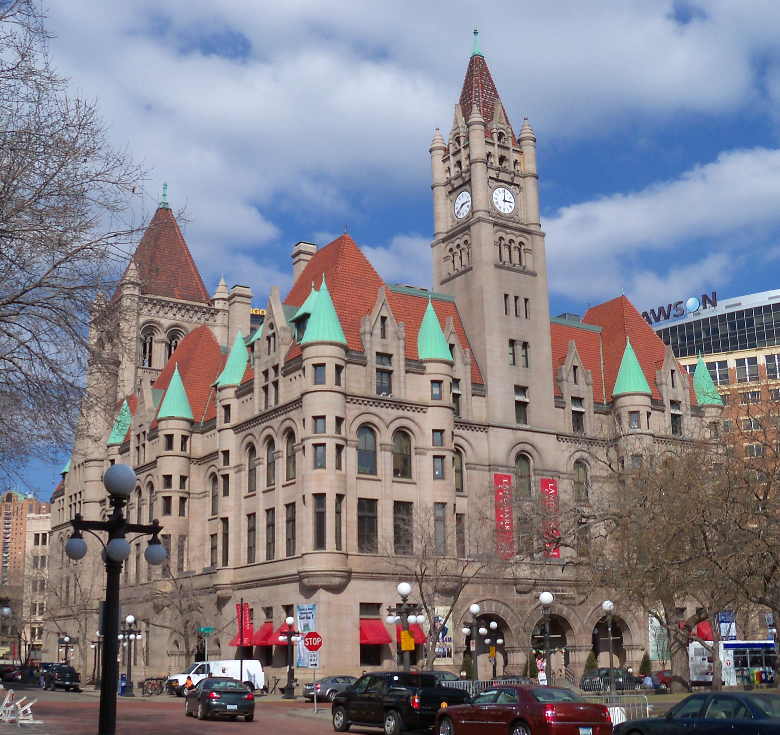 Landmark Center in Rice Park