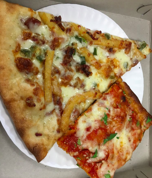 maxis pizza slices food spots temple