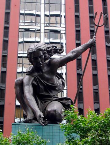 portlandia statue portland