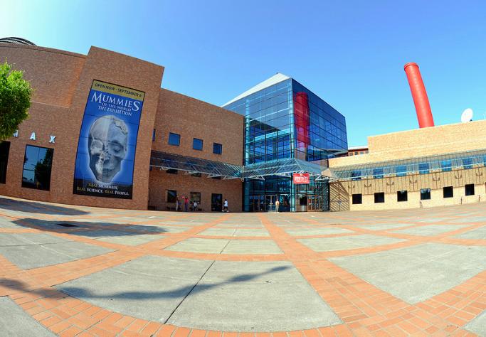 museum entrance portland