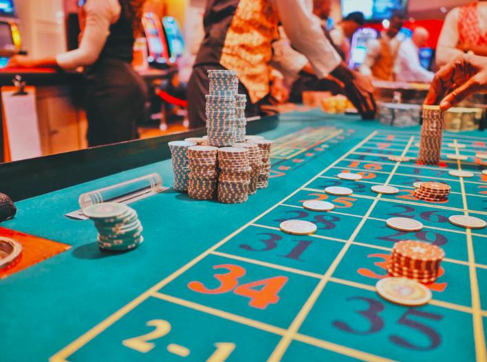people gambling in casino portland
