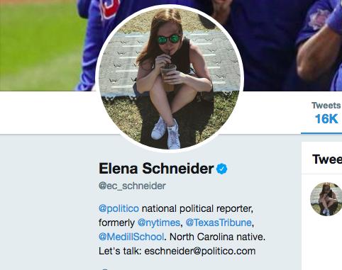 professional twitter bio