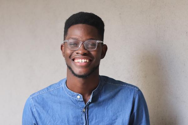 Irvin Mason Jr. smiling