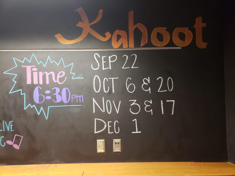 kahoot times