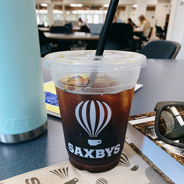 saxby's cup best date spots at temple