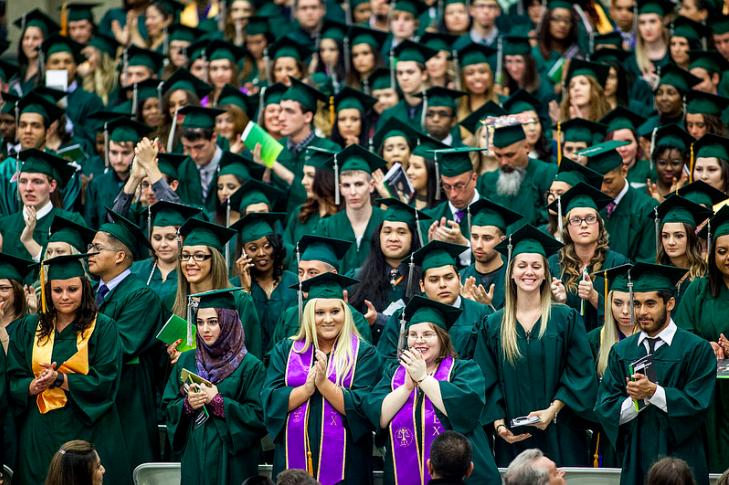 graduation millennial generation