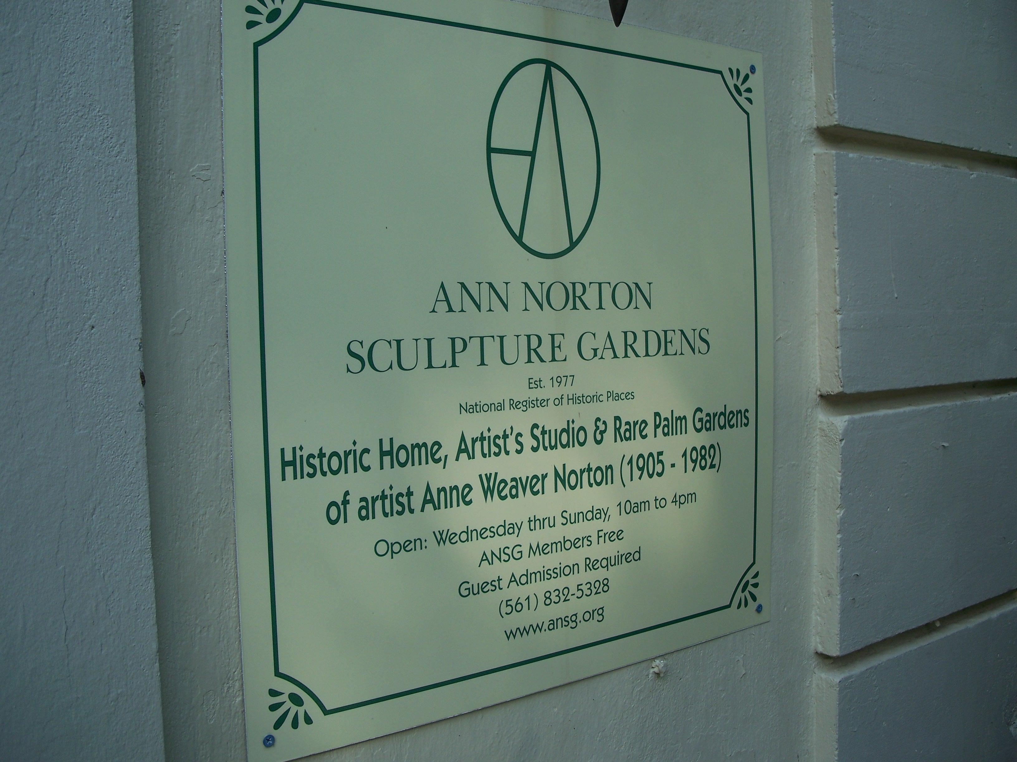 ann norton sculpture gardens things to do in palm beach