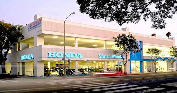 Honda of Santa Monica building How to buy a car