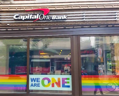 Capital One Bank front