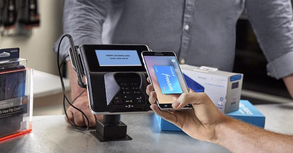 Samsung pay with Chase Freedom credit card