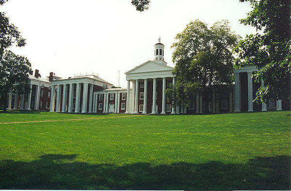 Washington and Lee College campus