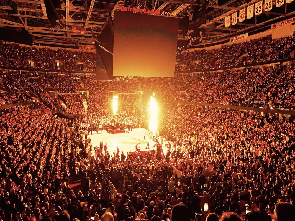 basketball game things to do in cleveland