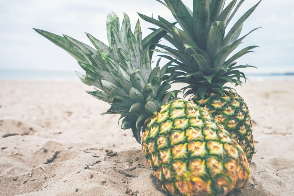 pineapples on beach things to do in palm beach