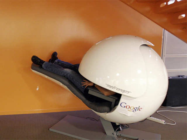 working at google nap pod