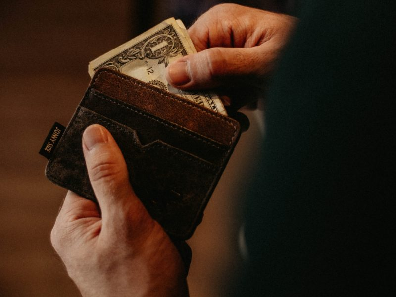 money in wallet debt management