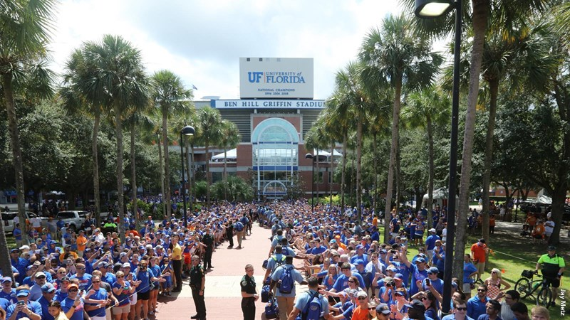 uf game day traditions stadium people