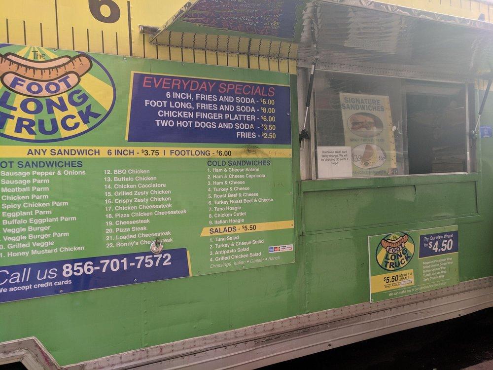 footlong sandwich truck