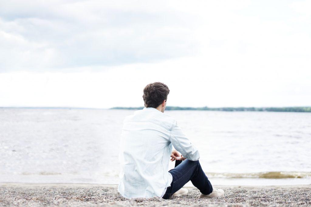 Man pondering