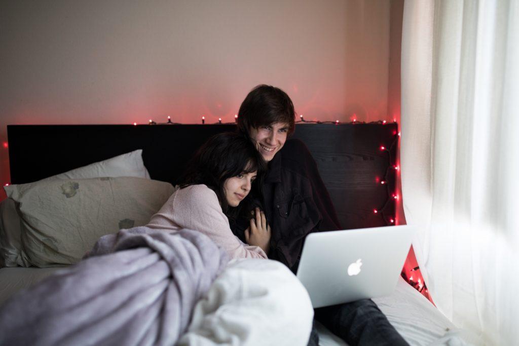 Netflix in bed